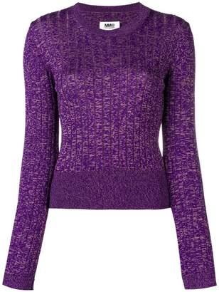 MM6 MAISON MARGIELA slim-fit pullover