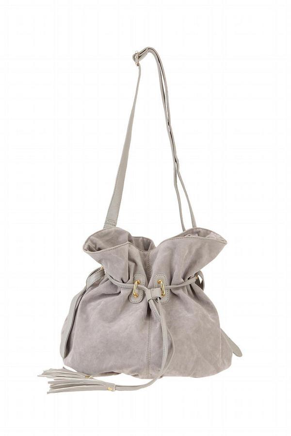 Kimchi Blue Slouchy Bucket With Tassels Bag