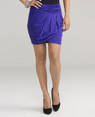 Love21 Knit Ruched Skirt