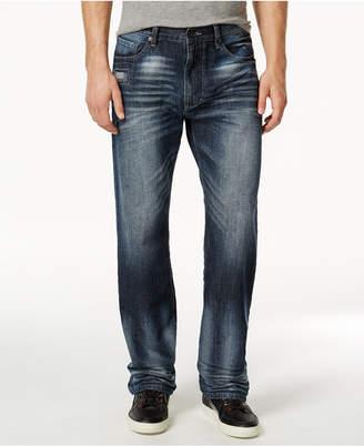 Sean John Men's Hamilton Relaxed Fit Jeans, Created for Macy's, Medium Repair $69.50 thestylecure.com