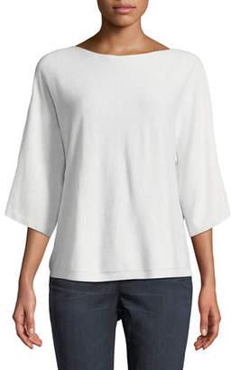 Eileen Fisher Seamless Seasonless Italian Cashmere Top