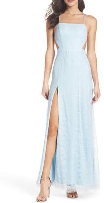 Fame & Partners The Adella Lace Gown