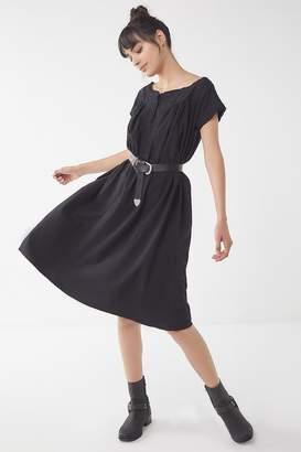 Urban Renewal Vintage Wide-Neck Cotton Midi Dress
