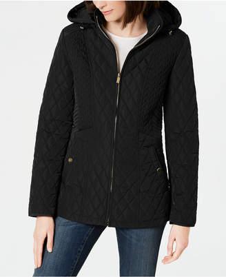 92b64d7e9 Jones New York Hooded Quilted Puffer Coat
