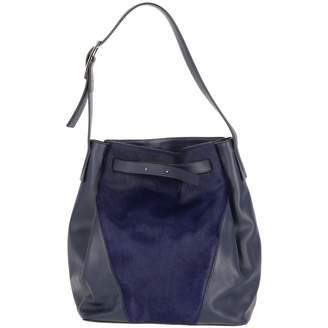 Vince Blue Fur Handbags