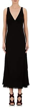Raquel Allegra Women's Crepe Sleeveless Dress
