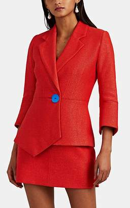 Marvelous! MANNING CARTELL Women's Marvelous Creations Asymmetric Blazer - Red