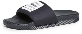 adidas By Alexander Wang by Alexander Wang Lycra Adilette Slide Sandals