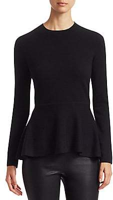 Saks Fifth Avenue Women's COLLECTION Cashmere Peplum Sweater