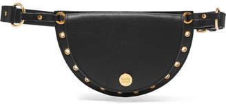 See by Chloe Kriss Embellished Leather Belt Bag - Black