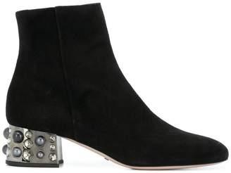 Sebastian embellished heel boots