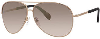 MARC by Marc Jacobs Aviator Acetate Sunglasses $120 thestylecure.com