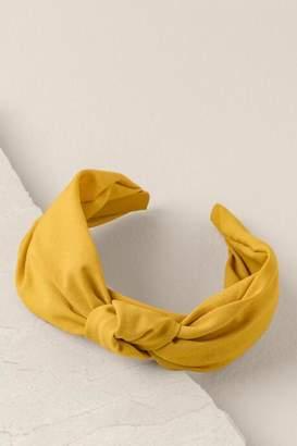 francesca's Whitley Knot Headband - Sunshine