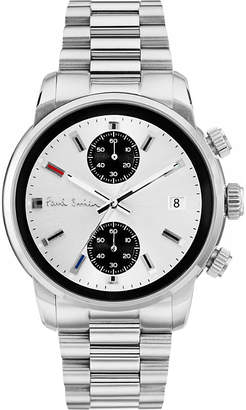 P10034 stainless steel chronograph watch
