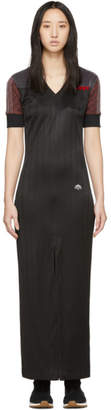 adidas by Alexander Wang Black and Brown Disjoin Dress