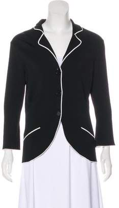 BCBGMAXAZRIA Three-Quarter Sleeve Knit Cardigan