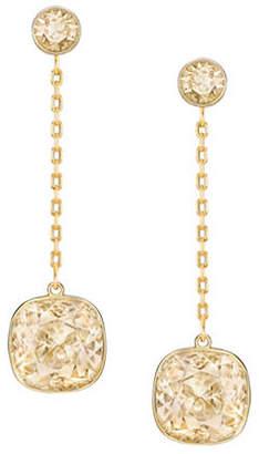 Swarovski Lattitude Crystal Drop Earrings