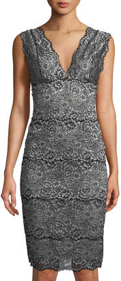 Cosabella Pret-a-Porter Long Lace-Trim Nightgown