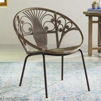 Mistana Mcintosh Rattan Papasan Chair