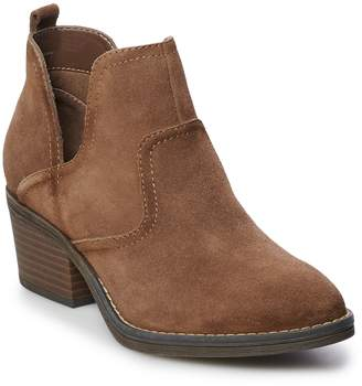 Sonoma Goods For Life SONOMA Goods for Life Woodcut Women's Suede Ankle Boots