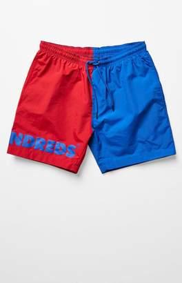 The Hundreds Colorblock Nylon Drawstring Shorts