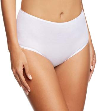 Hanro Women's Cotton Seamless Full Brief Panty