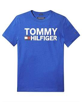 Tommy Hilfiger Essential Graphic Tee S/S (Boys 3-7 Years)