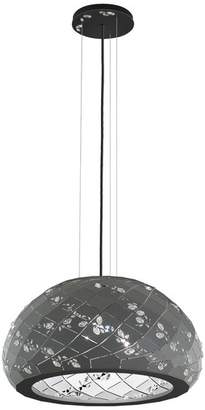 Swarovski 21x11 3-Light Pendant in Glimmer Gray
