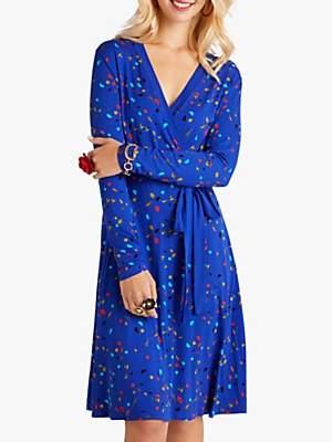 Yumi Print Wrap Dress