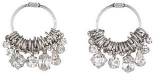 Dannijo Adelaide Blue Zircon Hoop Earrings IEm4tOx2