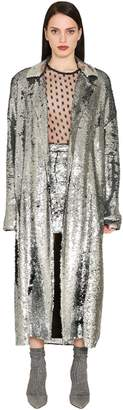 DANIELE CARLOTTA Sequined Coat