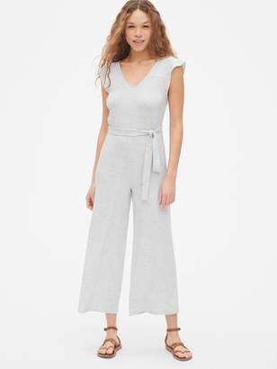 Gap Softspun Wide-Leg Jumpsuit