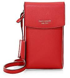 Kate Spade Women's Sylvia Leather Crossbody Phone Pouch