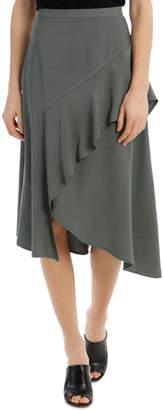 Skirt Ruffle Midi
