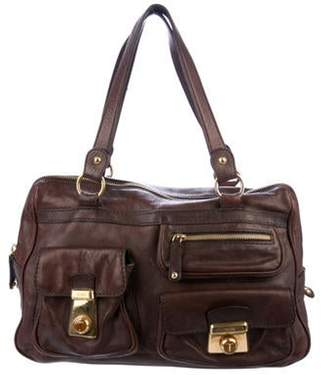 Tod's Grained Leather Shoulder Bag Brown Grained Leather Shoulder Bag