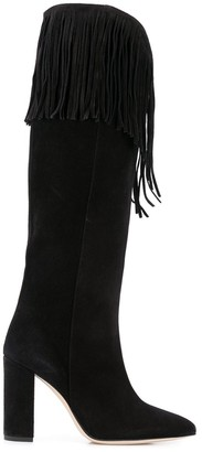 Paris Texas fringed boots
