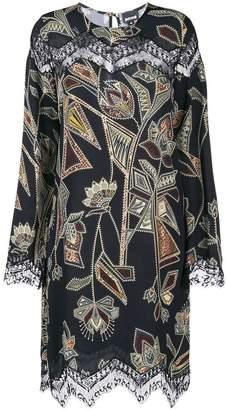 Just Cavalli aztec print dress