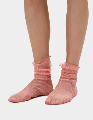 Rachel Comey Hynde Tulle Socks in Pink