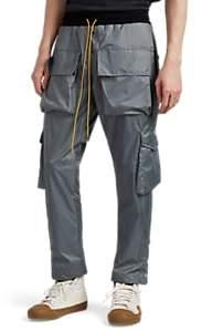 RHUDE Men's Tech-Ripstop Cargo Pants - Gray