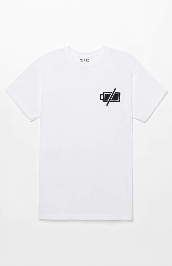 Tired No Battery T-Shirt