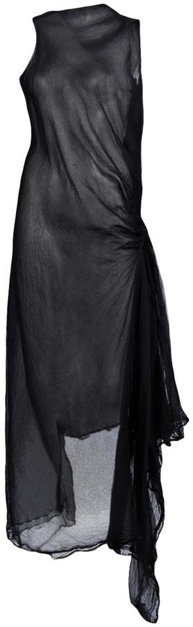 Marc Le Bihan SHEER DRESS