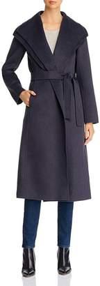 T Tahari Double-Face Wrap Coat