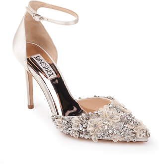 Badgley Mischka Collection Fey Embellshed Ankle Strap Pump