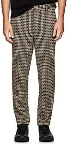 Neil Barrett Men's Houndstooth Skinny Trousers - Beige, Tan