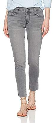 James Jeans Women's J Twiggy Ankle Jean with Released Hem