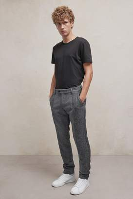 Fcus Patchwork Wool Trousers