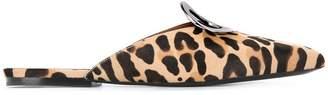 Proenza Schouler leopard mules