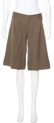 Mayle Tailored Mid-Rise Shorts