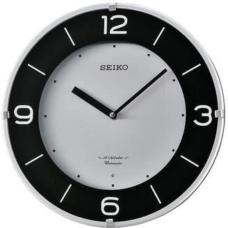 Seiko Musical Wall Clock Silver Tone Qxm358slh