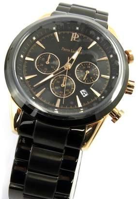 Pierre Lannier Men's watches 'Pierre Lannier' steel rose gold waterproof stopwatch.